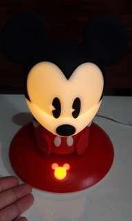 Disney Mickey Mouse Rubberized Lamp