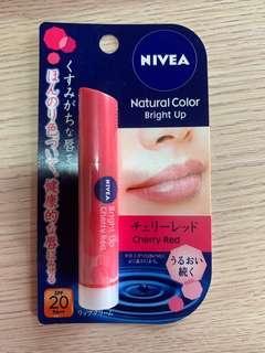 NIVEA Natural Colour Lip Balm Bright Up