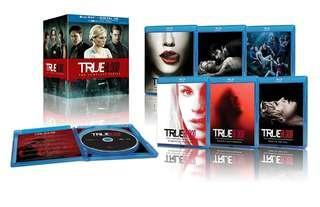 True Blood the Complete Series Bluray Boxset   33 Discs