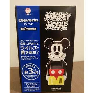 Medicom Toy Bearbrick BE@RBRICK Cleverin Disney Mickey Mouse Virus Virus and Odor eliminator