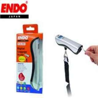 Brand New ENDO Japan Digital Luggage Scale w Free Battery - for Frequent Fliers, Travel agents, Airline staff, Courier Companies