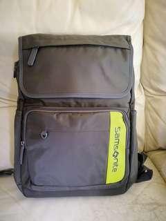 Samsonite grey backpack 100% new gray 新秀麗 全新 背囊 灰色computer 背包 電腦