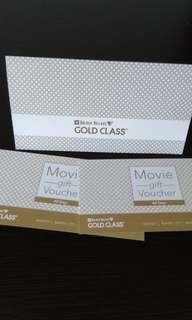 GV Gold Class Movie Tickets (1pair)