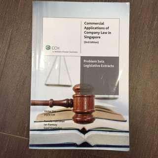 Commercial Applications of Company Law in Singapore (3rd ed)