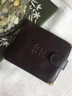 Vintage Balenciaga bi-fold wallet