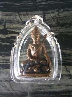 Thai Amulet Khun Paen Plai Guman Paet glab