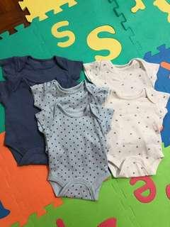 Preloved Mothercare Rompers (size: up to 1m)