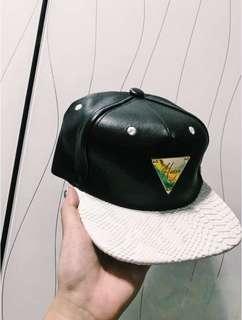 Hater 黑色皮帽