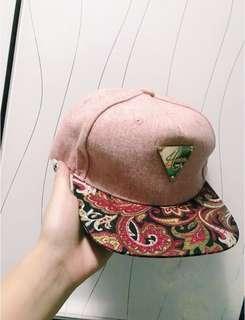 Hater🔆粉紅色民族碎花cap帽❤️