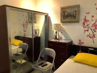Near Ayala,SM, Landers.With TV , TV plus, Mini Ref,  own CR and Shower