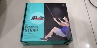 TRX Hang Pull Exercise Strap (Adjustable & With Extension Strip)