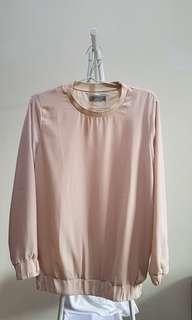 Soft Pink sweater by Zalia