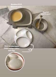 Baby / kids divided tableware set