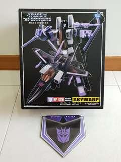 Transformers MP-11SW MP-11 MP11SW MP11-SW Masterpiece Skywarp Brand New - MISB with coin medallion