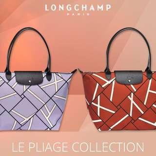 🚚 |  LONGCHAMP  |  LE PLIAGE GEO  |  1899  |  L Size Tote Bag