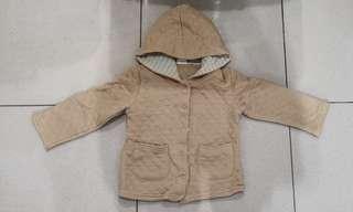 米色外套,正韓,尺寸100公分
