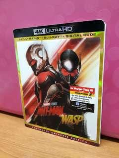 USA Blu Ray Slipcase 3D - Antman and the Wasp 4K