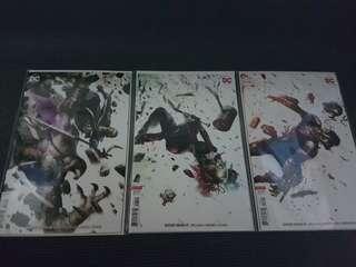 Suicide Squad #46 - 48 Variants DC COMICS