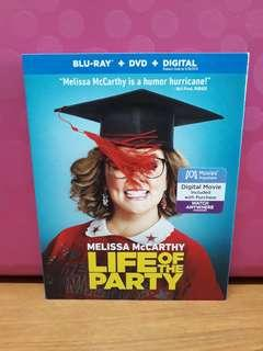 USA Blu Ray Slipcase - Life of the Party