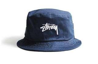 Stussy漁夫帽深藍