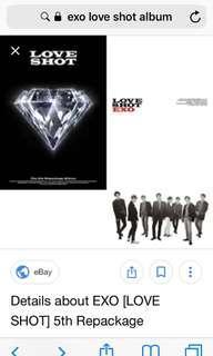 Looking for 2 love shot album help mee pleaseeee meet up onlyyy  2500 for 2 albums