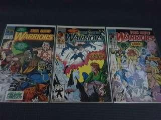 New Warriors #19 - 21 MARVEL COMICS
