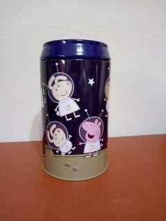🚚 粉紅豬小妹可樂罐存錢筒