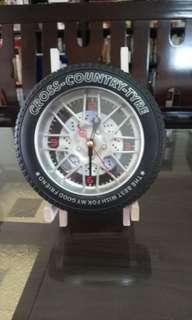 🚚 車廠輪胎型時鐘