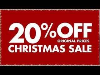 CHRISTMAS SALE!20% OFF