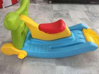 Rocking Horse and slide( 2 in 1)