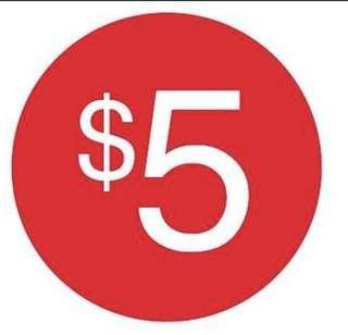 $5-$15 NEW CLOTHES SALE
