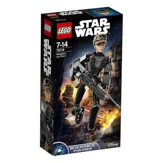 Lego Star Wars 75119 - Sergeant Jyn Erso Buildable Figures Sealed new