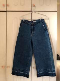 TEMT Wide Leg Jeans