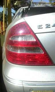 w211 LED尾燈