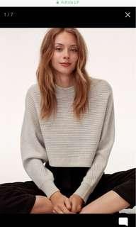 BN Aritzia Wilfred Free Lolan Sweater