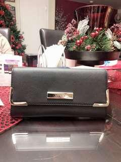 Nine West Black Wallet with Check Holder