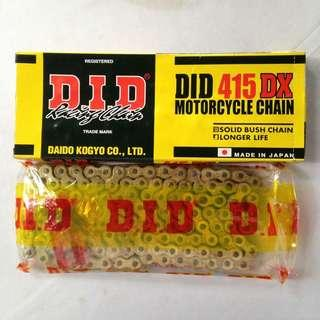 DID CHAIN HEAVY DUTY 415 & 428