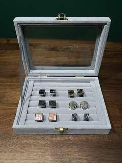 NEW: Cufflink and Accessories Box