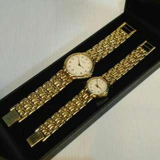 Christofle watch (couple) authentic
