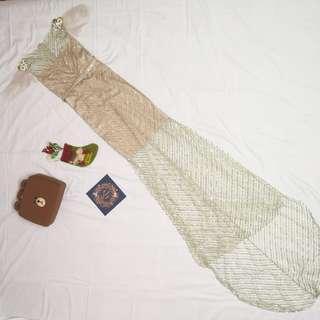 NadiaMarni Shimmering fish tail dress