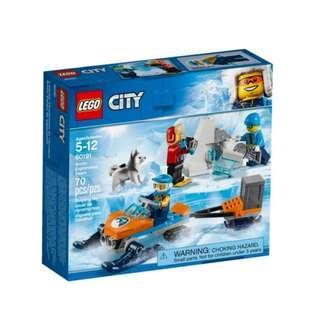 Lego Artic Team