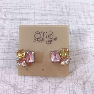 Earrings ans 閃石耳環 包郵