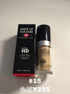 Makeup for ever hd foundation y225