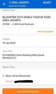 BLACKPINK 2019 WORLD TOUR IN YOUR AREA JAKARTA