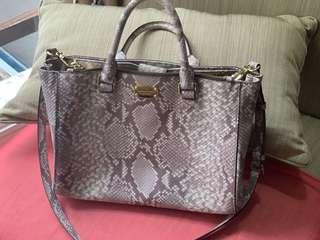 <Price Reduced!!!> Snake Skin Michael Kors Bag