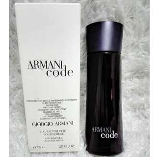 Armani Code Black by Giorgio Armani Perfume Spray