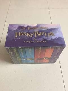 Harry Potter complete set.