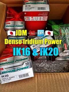 🚚 JDM Denso Iridium Power spark plug  (  IK16 & IK20 ) / Tough Series / NGK RX PREMIUM