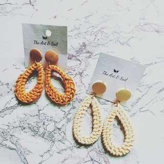 Rattan Earrings (Bhulet)