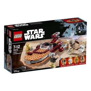 Lego Star Wars 75173 - Luke's Landspeeder Sealed new